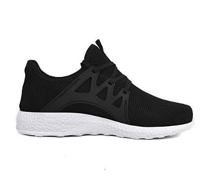 QANSI Women Shoes Mesh Tennis Breathable Workout Running Walking Sneakers