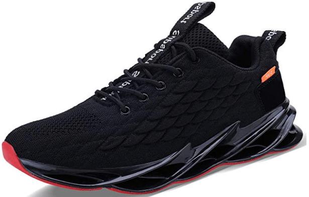 JointlyCreating Mens Tennis Shoes Lightweight Blade Sneakers Stylish Slip On Footwear